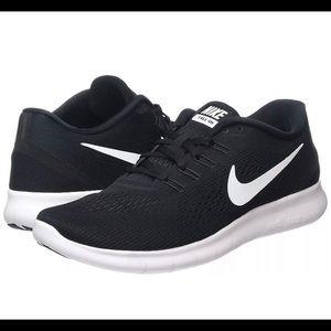 excitación Felicidades Sucio  Nike Shoes | Womens Nike Free Runs Black White | Poshmark